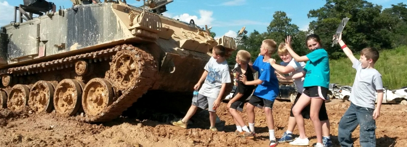 Tank Town USA Unique Party Places in Georgia