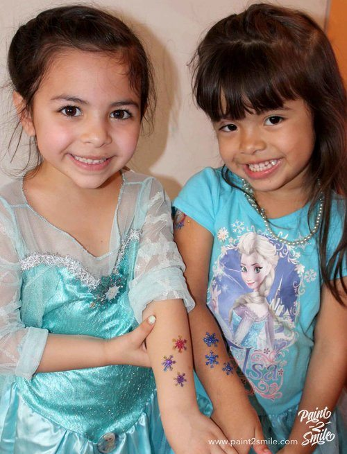 Glitter Tattoos Paint 2 Smile NJ
