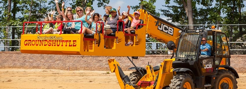 Diggerland Unique Birthday Parties New Jersey