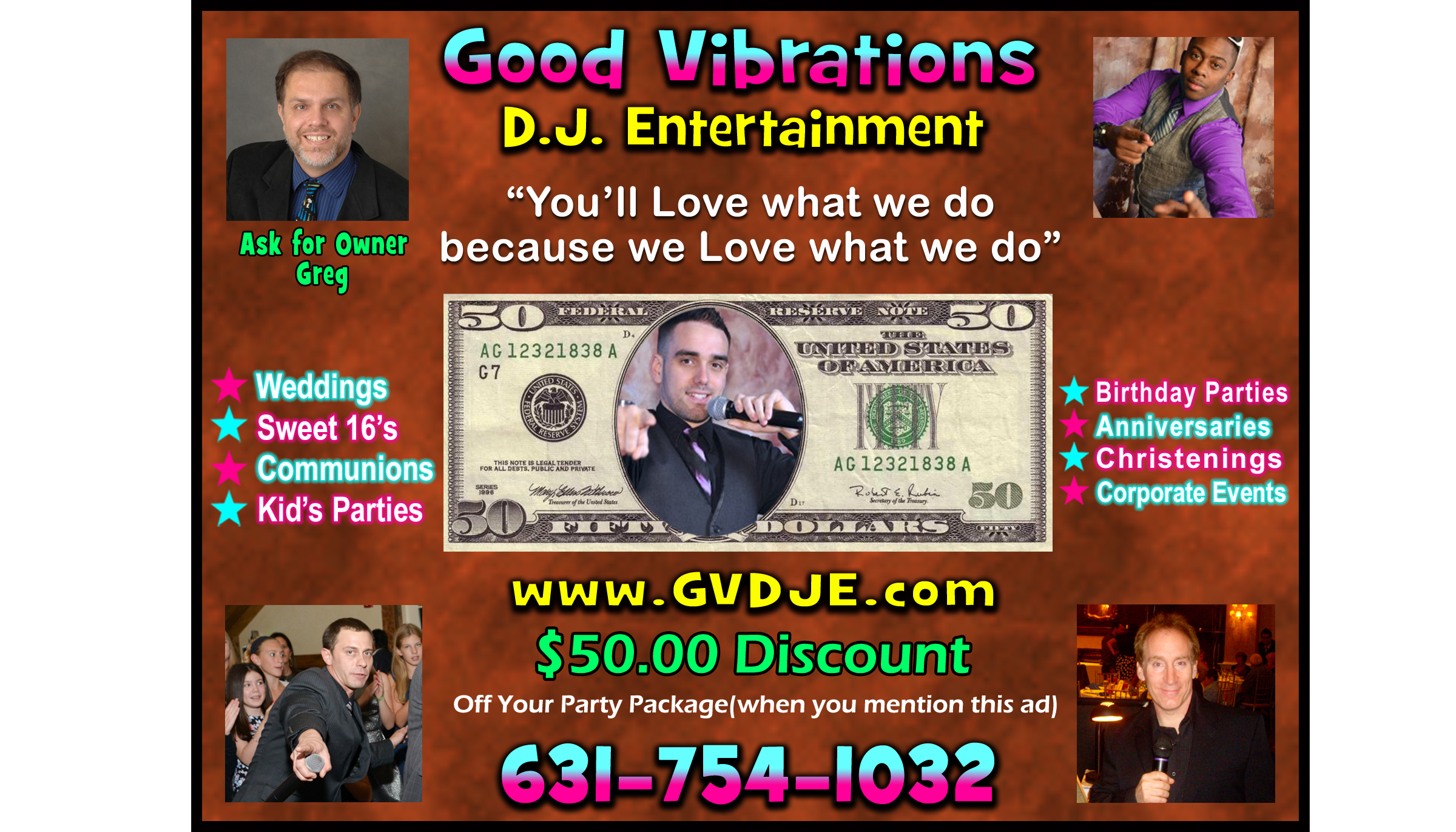 Good Vibrations DJ