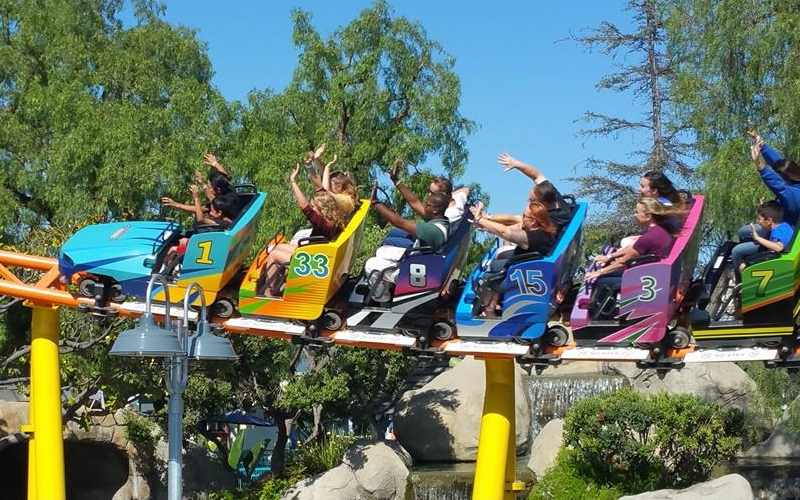 Adventure City In Anaheim California