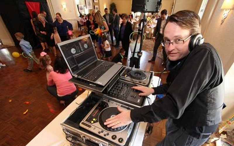 Beauty and the Beast's DJ Gregg at a Kids Party in NJ