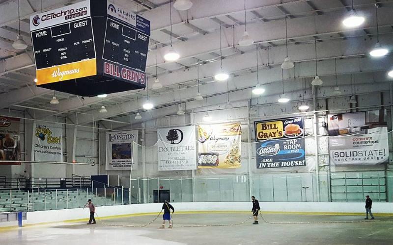 billy grays regional iceplex in rochester ny