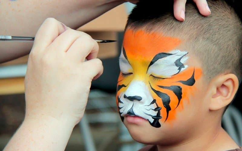Bright And Shining Event Artists Face Painter For Hire In Maryland