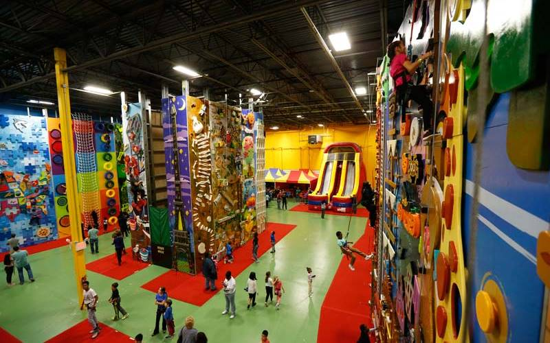Climbzone indoor climbing children 39 s party places for hire for Indoor party places for kids