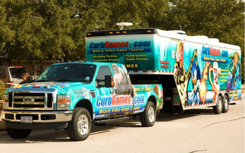 Curb Games Boy Themed Birthday Parties In Harris County Texas