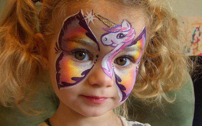 Nj Devils Face Painting
