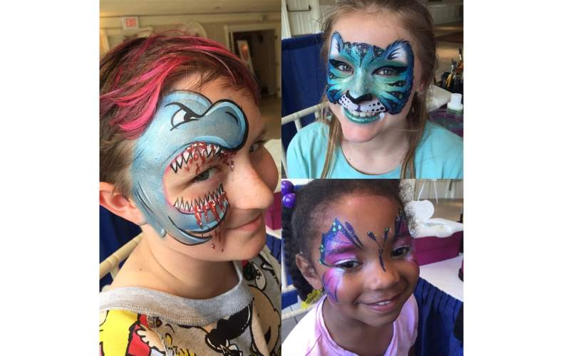 Animate My Face Painter in New Haven CT