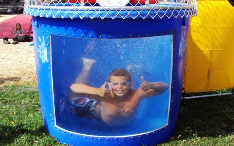 Frankies Carnival Time Dunk Tank Rentals in New York