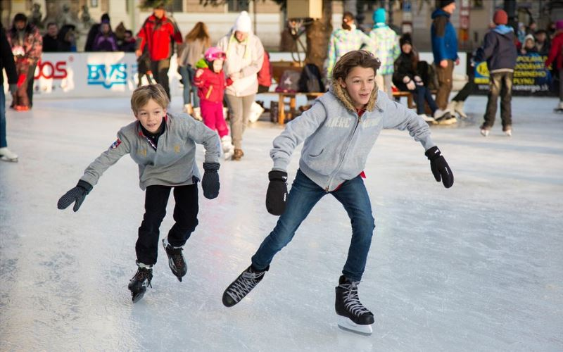 Ice skating mcallen