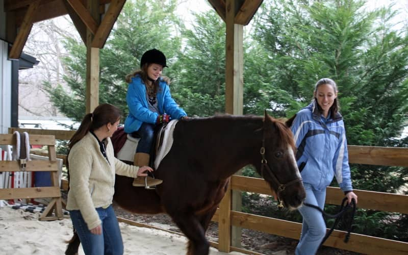 Gleneayre Equestrian Program Pony Parties in Southern NJ