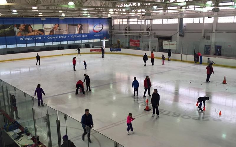 Aviator Sports and Events Center Ice Skating Parties for Kids in Brooklyn New York