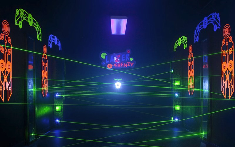Laser Bounce Laser Tag Birthday Parties For Kids In