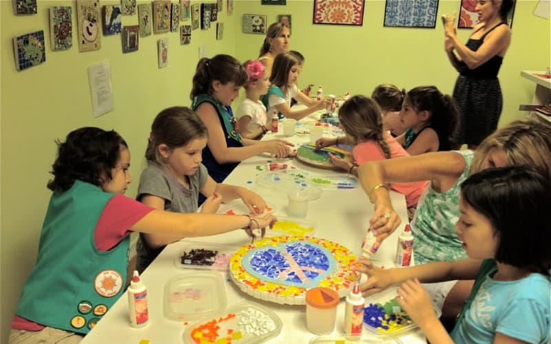 Mosaic Glassworks Craft Party Places in Northeast NJ