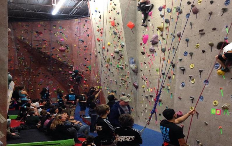 Premier Indoor Climbing Center-New Jersey Rock Gym
