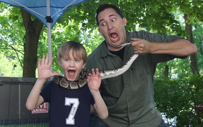 Nickel City Reptiles and Exotics Reptile Birthday Parties in NY
