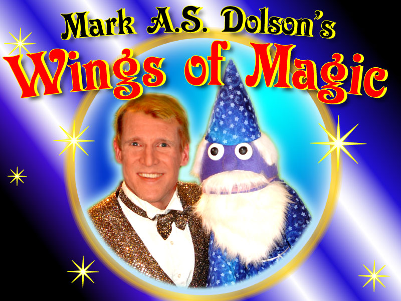 Mark A.S. Dolson New Jersey Magician Magic Shows