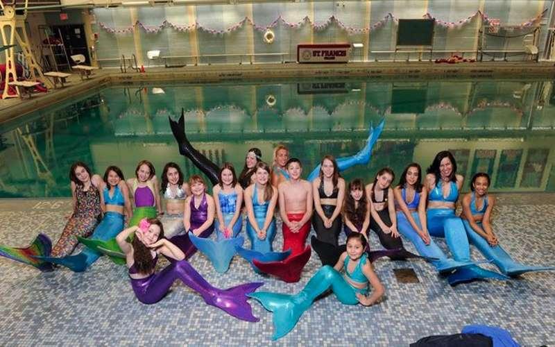 World of Swimming mermaid Parties