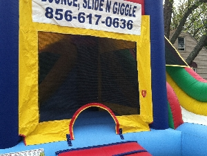 Bounce Slide N Giggle Inflatable Bounce House Rental companies in Southern NJ