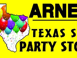 Arne's Texas Size Party Store Graduation Parties in Harris County Texas