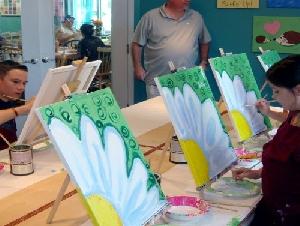 Art from the Heart Café Kids' Craft Parties in FL