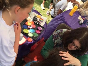 Artsy Events Face Painters for Parties in Harris County Texas