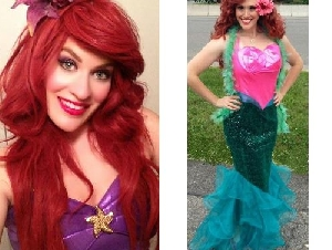 Beauty & the Beast LLC mermaid party entertainers in Somerset County New Jersey