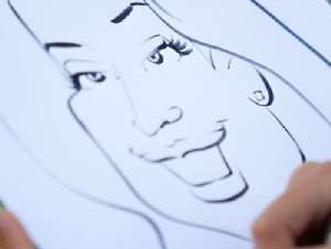 bring your face caricature artist in new haven county ct