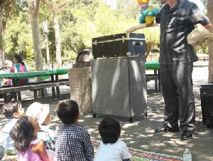 California Puppets Puppet Show Entertainers in Santa Clara County California