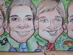 Caricatures by Joy Caricature Artist Serving Monroe County NY