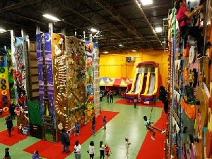 climbzone kids party place in laurel prince georges county md