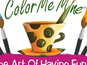 Color Me Mine art studio birthday parties in Union County New Jersey