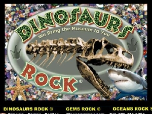 DINOSAURS ROCK educational party ideas for kids in Rockland County NY