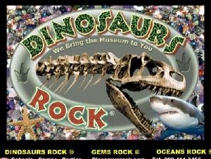 DINOSAURS ROCK, OCEANS ROCK, GEMS ROCK