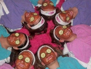 Glamour Girls Day Spa Sleepover Theme Parties For Girls in Cobb County GA