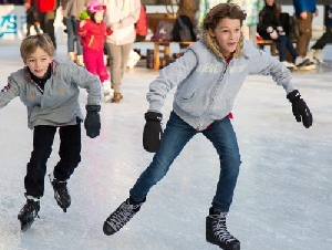 herbert wells ice rink ice skating parties in college park maryland