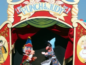 Horns Punch And Judy Show Childrens Puppeteer Serving Maryland