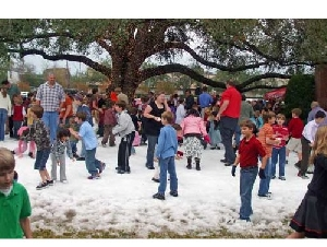 Ice Express In Your Home Snow Parties In Harris County Texas