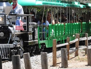 Irvine Park Railroad birthday party places in Orange County California