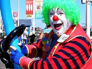 Jimbo The Clown Clown Entertainer For Kids In Pennyslvania