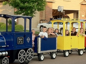 Trackless Train Rentals in Pennsylvania