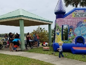 jumpin' bean party rentals in fl