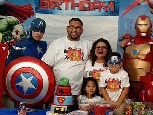 Just For Fun Superhero parties for boys in California