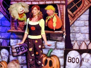 Kiddle Karoo Puppet Show Birthday Parties in Los Angeles County California