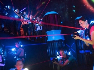 Lasertag of Carmichael laser tag birthday parties in Sacramento County California