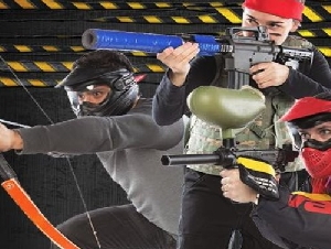 Indoor Extreme Sports Laser Tag Parties in New York