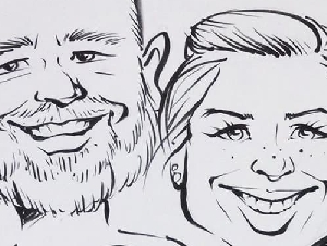 Leahs Caricatures And Face Painting Caricatures Artist In New Jersey
