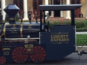 Liberty Express Trackless Trains Trackless Train Rentals In Central FL