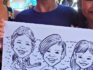 Nito Gomez Caricatures Caricature Artists for Hire in Santa Clara California