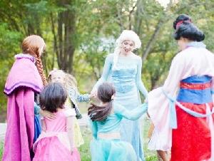 Orange County Royalty Princess parties in Anaheim California